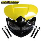 Motorcycle Alien Fairing Headlight For Honda Suzuki RM-Z250/125/450 Dirt Bike