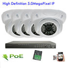 4Channel H.265 NVR 1920x 2592P 5MP PoE )* IP IP66 ONVIF Security Camear System