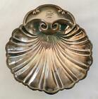 VINTAGE STERLING SILVER SCALLOP SHELL NUT DISH - FOOTED - 90 GRAMS
