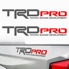Trd Pro Toyota Tacoma Tundra Racing Decals Stickers Graphic Cut Vinyl 1r