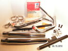 HARLEY NOS COMPLETE EXHAUST SYSTEM FOR IRONHEAD SPORTSTER IN ORIG BOX RARE