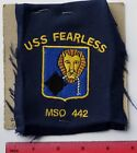 USS FEARLESS MSO-442 sample acket patch (EEE)