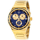 Swatch Irony Power Shot Blue Dial Stainless Steel Men's Watch YVG402G