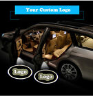 1Pair Your Customized Logo Wired Car Door Laser Projector Ghost Shadow LED Lighs