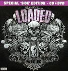 Sick by Duff McKagan's Loaded NEW CD&DVD Special edition,Live Concert,15Track CD
