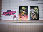 """Invasion Of The Mini Prints 9"""" x 6"""" Loot Crate War Of Worlds Day Earth Stood"""