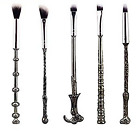 Harry Potter WAND Themed Make up Brushes (5) Pieces, WIZARD WITCH FREE SHIPPING!