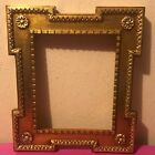 Beautiful Vintage Gold Tone Wood Picture Frame Made In Italy 8
