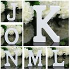 DIY White Wooden Letters Alphabet Wedding Birthday Wood Word Party Home Decor US