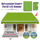 Multi size Replacement COVER Outdoor Manual Retractable Sunshade Awning Canopy