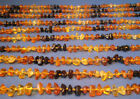 Wholesale Of 20 Baltic Amber Baby Necklaces Rainbow Color 1060 1180 inches