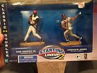 2000 STARTING LINEUP 2 KEN GRIFFEY JR. and ANDRUW JONES Classic Doubles