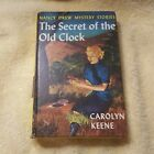 HARDCOVER Nancy Drew Mystery Book THE SECRET OF THE OLD CLOCK 1 FIRST EDITION