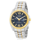 Citizen Men's BL1224-55L Eco Drive Two-Tone Metal Band Watch MSRP $375
