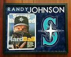 Randy Johnson Signed Autographed 8x10 Sports Illustrated Cover Framed PSA DNA