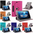 """360°UNIVERSAL Folio LEATHER Stand CASE COVER FOR 7"""",8"""",9"""",9.7""""10.1""""ANDROID TABLE"""