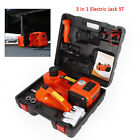 3t5t 3in-1 Auto Electric Hydraulic Floor Jack Lift Pump With Impact Wrench Set