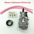 High Performance 1Pcs 30mm Carburetor With Power Jet For Motorcycle Scooter ATV