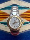 Tag Heuer Women's 18K Gold Stainless Date Professional Watch WL1350
