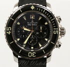 Blancpain Fifty Fathoms Flyback Chronograph 5085F-1130-52 5085f Black 45mm
