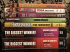 Jillian Michaels Biggest Loser Cardio Kickbox Yoga Maximize Workout DVD Lot