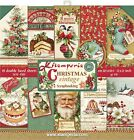 Stamperia Double Sided Paper Pad 12X12 10 Pkg Christmas Vintage 10 Designs 1