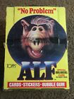Vintage 1987 Topps Alf Trading Cards Box 48 Unopened Wax Packs