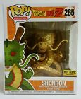 NEW Funko Pop! #265 Dragon Ball Z HT Hot Topic Exclusive Shenron Gold 6