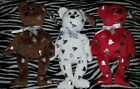 Ty Beanie Babies Hershey's Kisses Bears Lot of 3 CREAMY SMOOTHIE YUMMY Rare