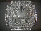 4 Part Glass Relish Tray Vintage 10