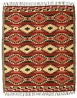 Diamond Authentic Mexico Accent Throw Native Style Blanket 4x5 Southwest Lodge