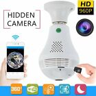 Wireless Light Bulb Camera Security CCTV IP 960P  360° Wifi Panoramic Network MY