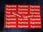 Supreme New York Box Logo Sticker Bogo