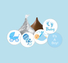 108 its a boy baby shower hershey kiss stickersfavorspartybluegender reveal