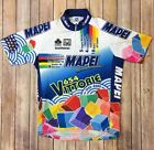 SMS Santini Mapei Cycling Jersey Mens 50 XL Made In Italy