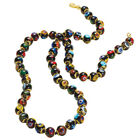 Floriana Womens Murano Glass Beads Beaded Necklace Hand Made in Italy 16