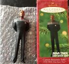 CAPTAIN BENJAMIN SISKO OF DEEP SPACE NINE  HALLMARK STAR TREK ORNAMENT