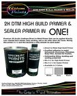 2k Dtm Primer Inc Activator - Black - Urethane Based Automotive Paint Sealer