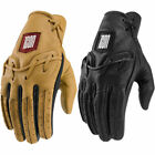 2019 Icon 1000 Mens Baserunner Leather Motorcycle Gloves Pick Size Color