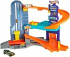 Hot Wheels Speedtropolis Playset Kids Toys Gift Racing Cars Race Track