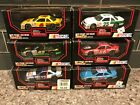 1991 Racing Champions 143 NASCAR Stock Cars LOT of 6 Die Cast