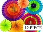 Fiesta Paper Hanging Fans Decoration Wedding Events Party Baby Showe