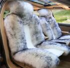 White Premium Quality Australian Sheep Skin Car Long Wool Front Seat Cover One