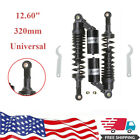 320mm Motorcycle Shock Absorbers for 150cc 750cc Street Bikes Karting Scooter