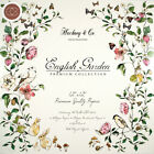 Craft Consortium Double Sided Paper Pad 12X12 40 Pkg English Garden