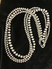 Native American Sterling Silver Navajo Pearls Necklace 21 3 Str Gift 456 mm
