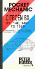 Glovebox Workshop Manual Citroen BX 1400cc 14E 14RE to 1986 New Service Repair