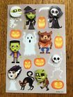 HALLOWEEN STICKERS Spooky Pop out Monsters with 3D faces
