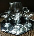 Glasses 7 Piece Set 1940's - 1960's