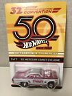 2018 Hot Wheels 32nd Convention 2 Peppermint Twist 65 Mercury Comet Cyclone